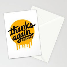 THANKS AGAIN Stationery Cards