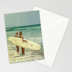 Girls of summer Stationery Cards