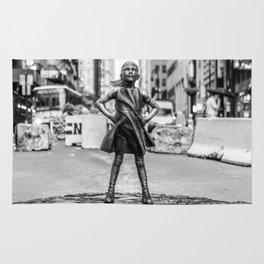 Fearless Girl NYC Rug