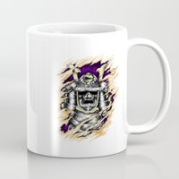 samurai Mugs featuring Samurai by hadee