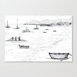Praia da armação - Búzios - RJ - Brasil Canvas Print