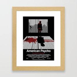 American Psycho - Poster Framed Art Print