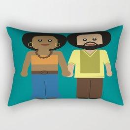 Power Couple Rectangular Pillow