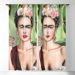 Frida con Amigos Blackout Curtain