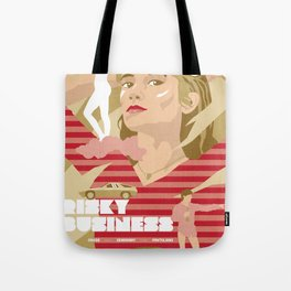 80s TEEN MOVIES :: RISKY BUSINESS Tote Bag