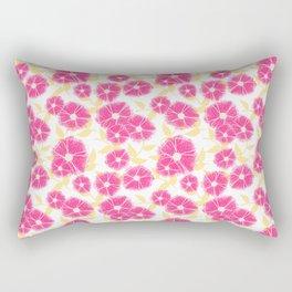 12 Sketched Mini Flowers Rectangular Pillow