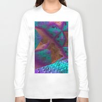 be brave Long Sleeve T-shirts featuring Brave by Fractalinear