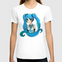 vocaloid T-shirts featuring Hatsune Miku by Tiffany Willis