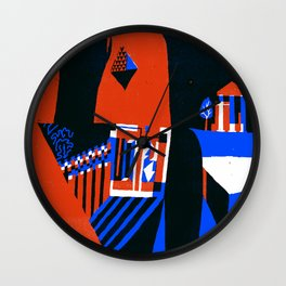 Missing Tooth Wall Clock