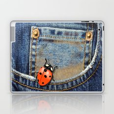 Lady Bug in My Pocket Laptop & iPad Skin