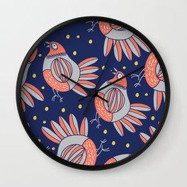 chikens  Wall Clock