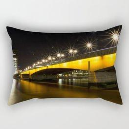 London Bridge at Night Rectangular Pillow