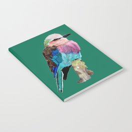 Lilac Breasted Roller Bird Notebook