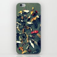 sale iPhone & iPod Skins featuring Sale by Irène Sneddon