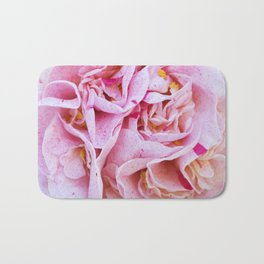 Strawberry Blonde Camellia Bath Mat