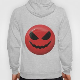 Red face design Hoody