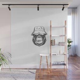Cabeza Gorila Estilo Wall Mural
