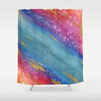 cosmic Shower Curtains featuring Cosmic by Brazen Edwards