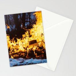 Set on Fire Stationery Cards