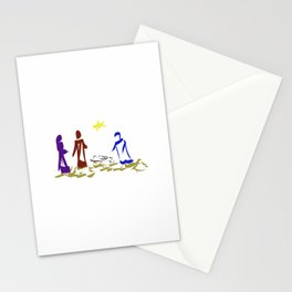 A King is Born in Bethlehem DP150903b Stationery Cards