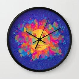 El Sol Wall Clock