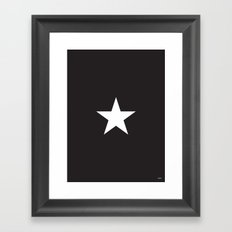Star by Friztin Framed Art Print