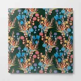Tropical Pop Metal Print