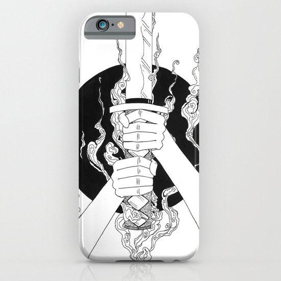 Samurai Spirit (Original Sketch) iPhone & iPod Case