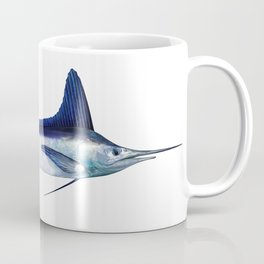 White Marlin Coffee Mug