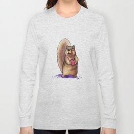 Squirrel Loves You Long Sleeve T-shirt