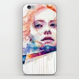 conspiracy of silence iPhone Skin