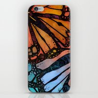 wings iPhone & iPod Skins featuring Wings by S.G. DeCarlo