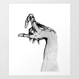 Muscle and Bone Art Print