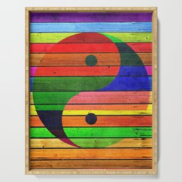 Yin Yang, Martial Arts, Medicine, Taoism Serving Tray