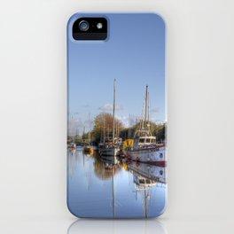 Lydney Harbour iPhone Case