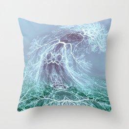 Dancing Tree-1 Throw Pillow