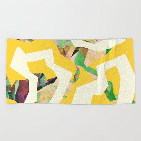 Camouflage XXXV Beach Towel