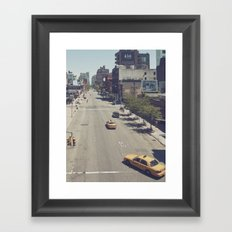 taxi... Framed Art Print