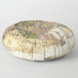 Margaret Macdonald Mackintosh Sleeping Princess Floor Pillow