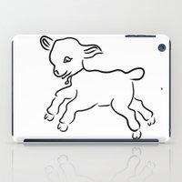 lamb iPad Cases featuring lamb by Alexandr-Az