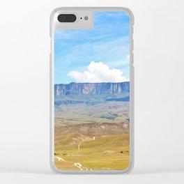 Roraima Tepuy Clear iPhone Case