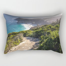 View of Cape Point in Cape Town, South Africa Rectangular Pillow