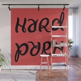 Funny hard porn ambigram Wall Mural
