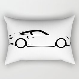 Fast Car Rectangular Pillow