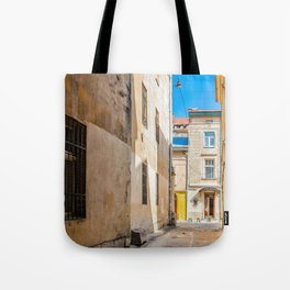 The courtyard of Lviv Tote Bag