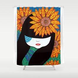 Sunny Girl Shower Curtain