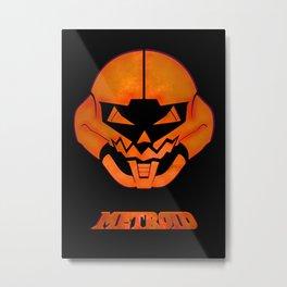 Metroid III Metal Print