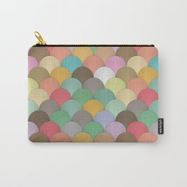 Colourful Wave Pattern Carry-All Pouch
