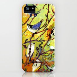 16 Birds iPhone Case