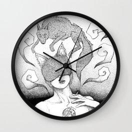 The killing Moon Wall Clock